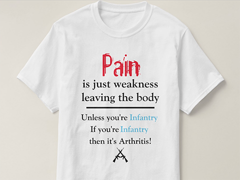 Pain is Just Weakness Tshirt by Bitter Glitter.us